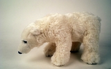 00210 Polar Bear, 9.5 Inch L, Standing, With Beans