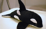 00600 Killer Whale, 9 Inch